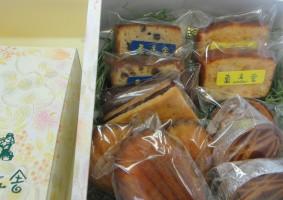 焼き菓子セット(大) 12個の焼き菓子が入っています。¥1,785(税込¥1884)